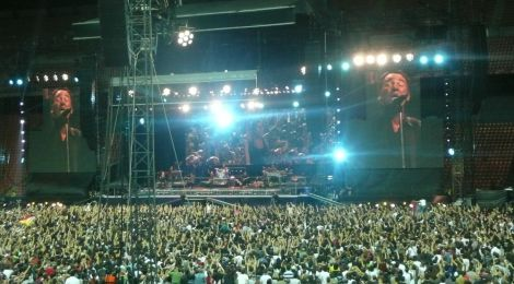 Springsteen at San Siro